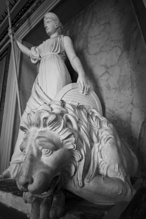 Rosersberg Palace Statue